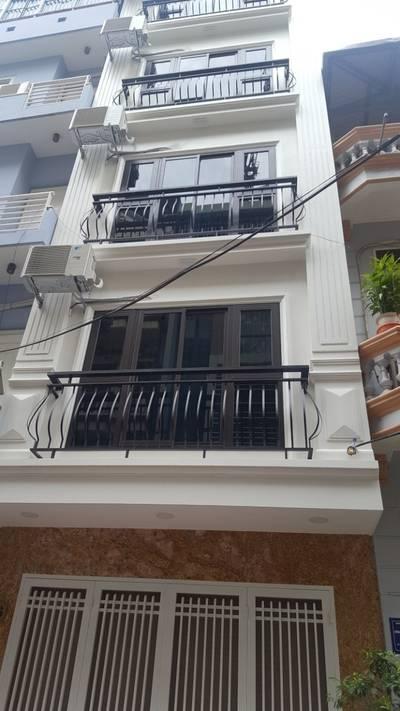 Cho thuê tòa nhà Trần Vỹ   Mai Dịch   80m2 x 6T,Thang máy, Giá 36tr...