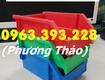 Chuyên cung cấp khay nhựa xếp chồng, hộp nhựa đựng ốc vít trong gara ô...