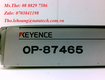 Bộ điều hợp gắn bảng điều khiển Keyence OP 87465