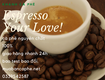 Cà phê hạt rang xay,giá sỉ ổn định 24 tháng tại bình dương