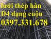 Lưới Thép Hàn D5 100X100, 150X150, 200X200, 250X250, 350X350 Làm Theo Đơn Đặt Hàng