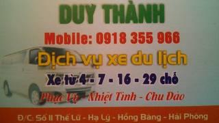 Cho thuê xe du lịch từ 4, 7, 16 , 29  chỗ ngồi tại Hải Phòng