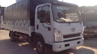 Bán xe Faw 6,95 tấn, thùng dài 5,1M, máy khỏe, cabin ISUZU