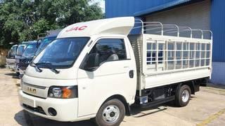 Xe tải jac x99 990kg máy dầu, euro 4, thùng dài 3m2, thùng mui bạt