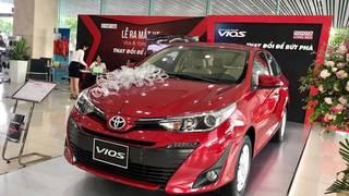 Bán Toyota Vios 2019 trả góp tại Thái Bình,