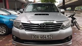 Cần bán Toyota Fortuner 2.5G 2014, máy dầu, số sàn  Tên công ty, xuất hóa đơn cao...
