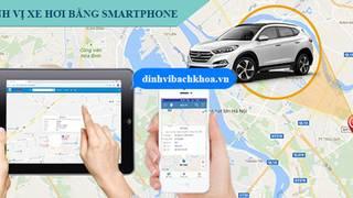 Giải pháp định vị xe hơi hữu hiệu bằng điện thoại