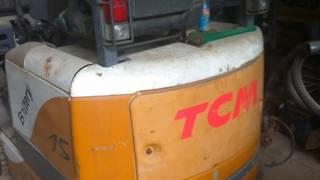 Xe nâng điện ngồi lái TCM 1.5 tấn đã qua sử dụng