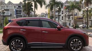 Bán xe Mazda Cx5 bản 2.0, sản xuất 2016, banh điện tử, màu đỏ còn mới ken xà...