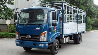 Giá xe tải veam vpt260 tải 1.9T thùng dài 6m1 động cơ isuzu