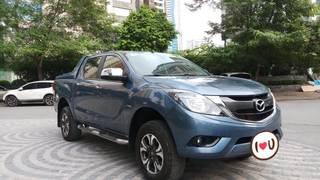 Ô TÔ THỦ ĐÔ Bán xe Mazda BT50 2.2AT 2017, màu xanh 529 triệu