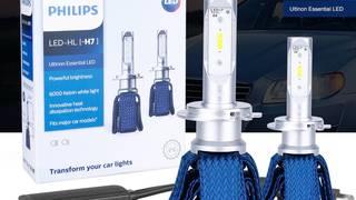 Led philips giá rẻ , đèn siêu sáng cho cả 2 bánh và 4 bánh