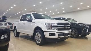 Bán FORD F 150 Platinum 3.5 nhập Mỹ màu trắng nội thất màu đen, sản xuất 2018 xe...