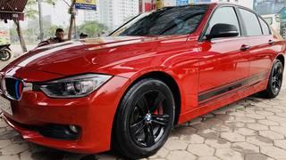 BMW 320i F30 2013 Đỏ Kem