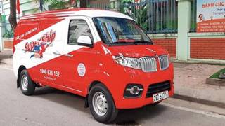 Xe tải Van Dongben X30  Vô tư chở hàng không màng phố cấm