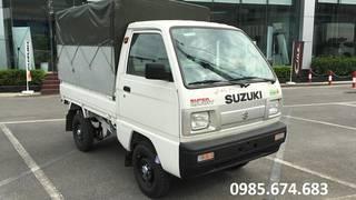 Suzuki Việt Anh bán xe tải 5 tạ 2021 thùng mui bạt bền đẹp