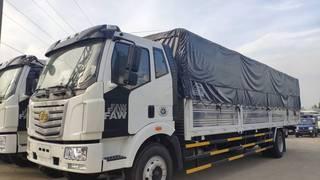 Xe tải faw 7.2 tấn thùng 9.7 mét chở pallet nhập khẩu Hỗ trợ 90