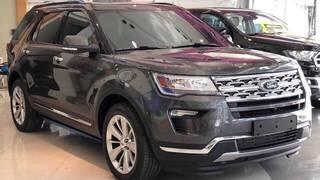 Ford Explorer đủ màu giao ngay, giảm giá cuối tháng