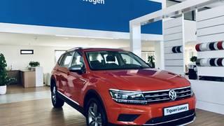 Bán xe Volkswagen Tiguan Luxury 2019, Màu cam, Nhập khẩu