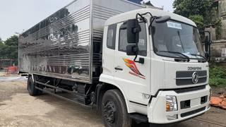Bán xe 2 chân Dongfeng B180 thùng kín 7m8 giá rẻ tại Hà Nội