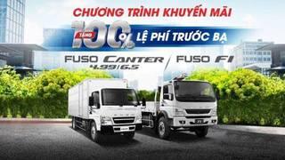 Xe Tải Nhật Bản MISUBISHI FUSO CANTER 6.5   3,49 tấn trả góp 80