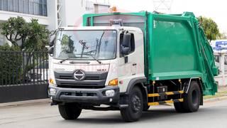 Xe tải chở   ép rác 2 chân FG tải cho phép 6,3 tấn