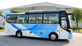 Xe khách 29 chỗ bầu hơi thaco TB79S 2020