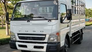 Xe tải Fuso Canter6.5 Thùng mui bạt