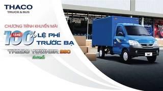 Bán xe tải Thaco Towner 990   Trả góp 75