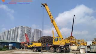Cho thuê xe cẩu Kato chuyên dụng 35 tấn đến 50 tấn