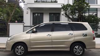 Bán xe Toyota Innova 2.0E màu ghi vàng sx cuối 2016 chính chủ gia đình sử dụng từ...