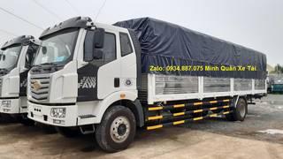 Bán xe tải Faw 8 tấn/8T thùng dài 9m8 chuyên chở hàng dài, cồng kềnh