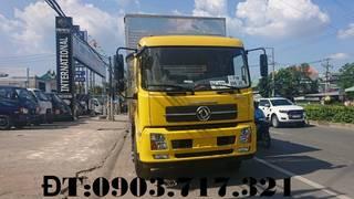 Xe tải Dongfeng 8 Tấn Model DongFeng B180 thùng kín 9m7 giao xe ngay