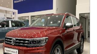 Volkswagen Tiguan Luxury   Tặng ưu đãi lớn tại VW Quảng Ninh