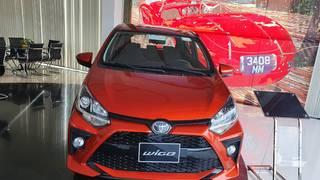 Toyota Wigo 1.2 nhập khẩu, xe giao ngay, hổ trợ vay 80, thanh toán 100 triệu nhận xe....