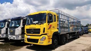 Bán xe tải DongFeng 4 chân 2019 Euro 5. Xe tải dongfeng ISL315 4 chân mới nhập khẩu...
