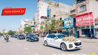 Combo xe cưới Vinfast 6 in 1   Xe cưới Minh Thành Hải Phòng