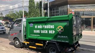 Xe tải chở rác hiệu JAC 3,5 khối giá rẻ