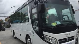 Bán xe 35 chỗ Bầu hơi Thaco TB85S tại Hải Phòng