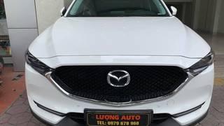 Bán Mazda CX5 2.0L màu trắng sản xuất 2018 biển Hải Phòng