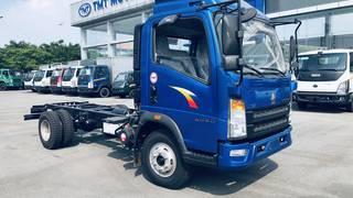 Thanh lý xe tải tồn Howo 6 tấn 4m2 ga cơ 2017 trả trước 120 tr