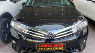 Bán Toyota Altis 1.8G số tự động sản xuất 2017 màu đen biển Hải Phòng.