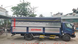 Hyundai Mighty 110XL  7 Tấn Thùng Dài 6m3