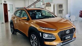 Xe Hyundai Kona giá bao nhiêu   Kona bản tiêu chuẩn giá bao nhiêu   bảng...