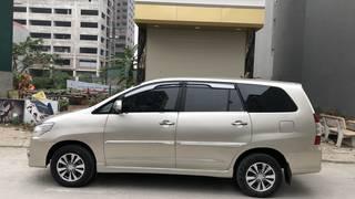 Gia đình bán xe INNOVA 2.0E màu vàng, sx 2016, chính chủ từ đầu