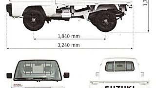 Vận chuyển nội ô dành cho xe Suzuki Truck