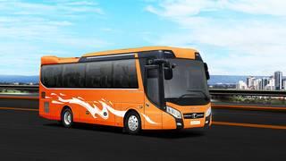 Bán xe khách 34 chỗ Thaco Meadow TB85S tại Hải Phòng