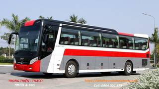 Bán xe khách 47 chỗ Thaco Bluesky TB120S tại Hải Phòng