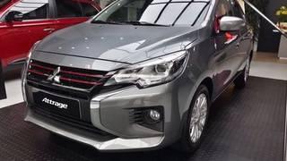Mitsubishi attrage all new 2020   đna