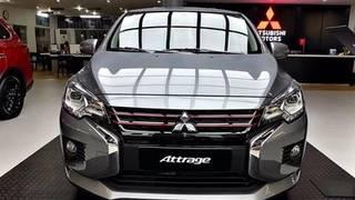 Mitsubishi attrage 2020 ưu đãi lớn, trả góp 120tr